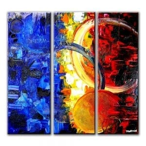 DREAM FORMULA abstract painting