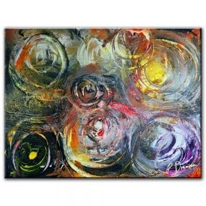 LINKED ABSTRACT PAINTING