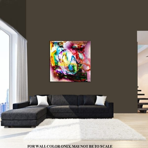 OPTIMISM IS THE FAITH, ABSTRACT PAINTING