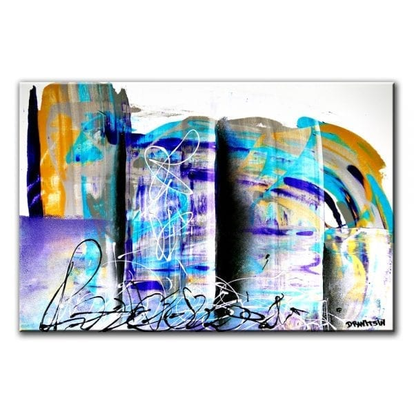 TOP ACHIEVERS, ABSTRACT PAINTING