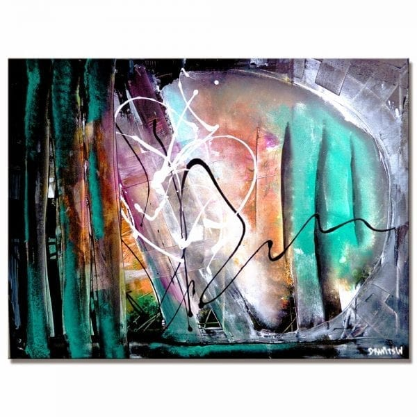 FIND YOUR WAY, ABSTRACT PAINTING