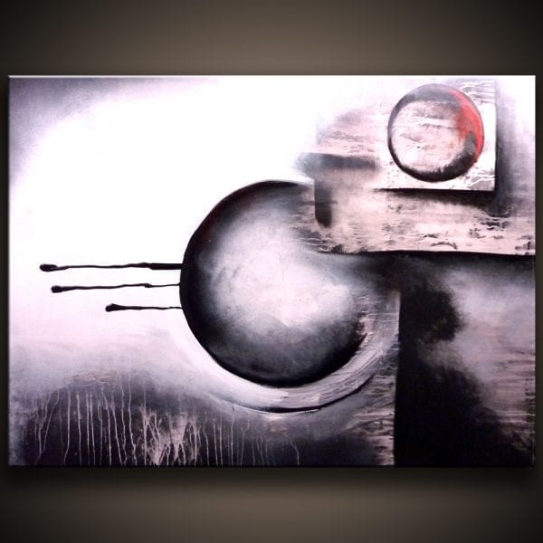 Abstract Desire abstract painting by Peter Dranitsin