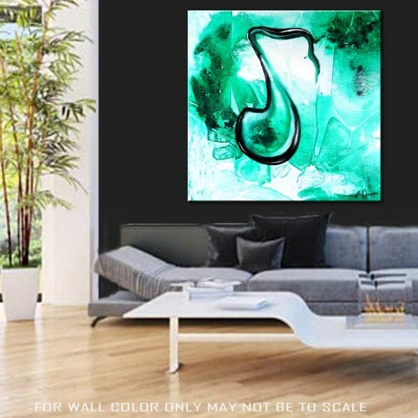 CRYSTAL MUSICAL NOTE