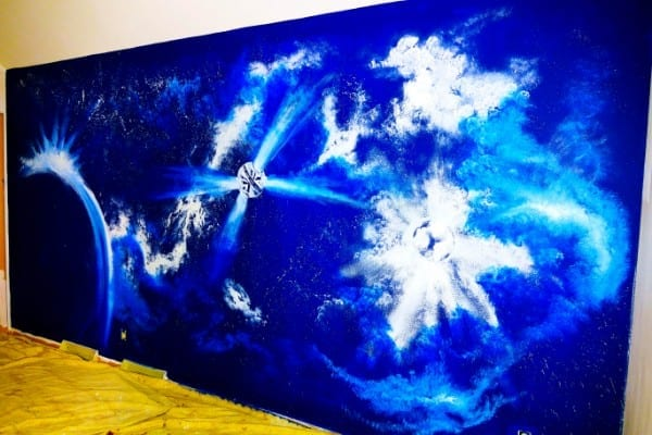 COSMOS - MURAL PAINTING - VIDEO DEMO