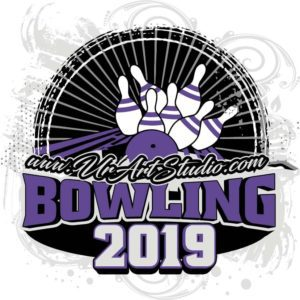 BOWLING ADJUSTABLE LOGO DESIGN EPS, AI, PDF