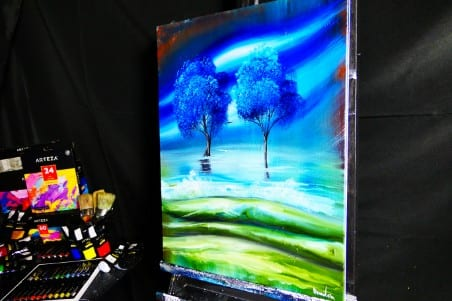 OIL PAINTING BY DRANITSIN