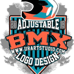 BMX VECTOR LOGO DESIGN FOR PRINT AI EPS PDF 503