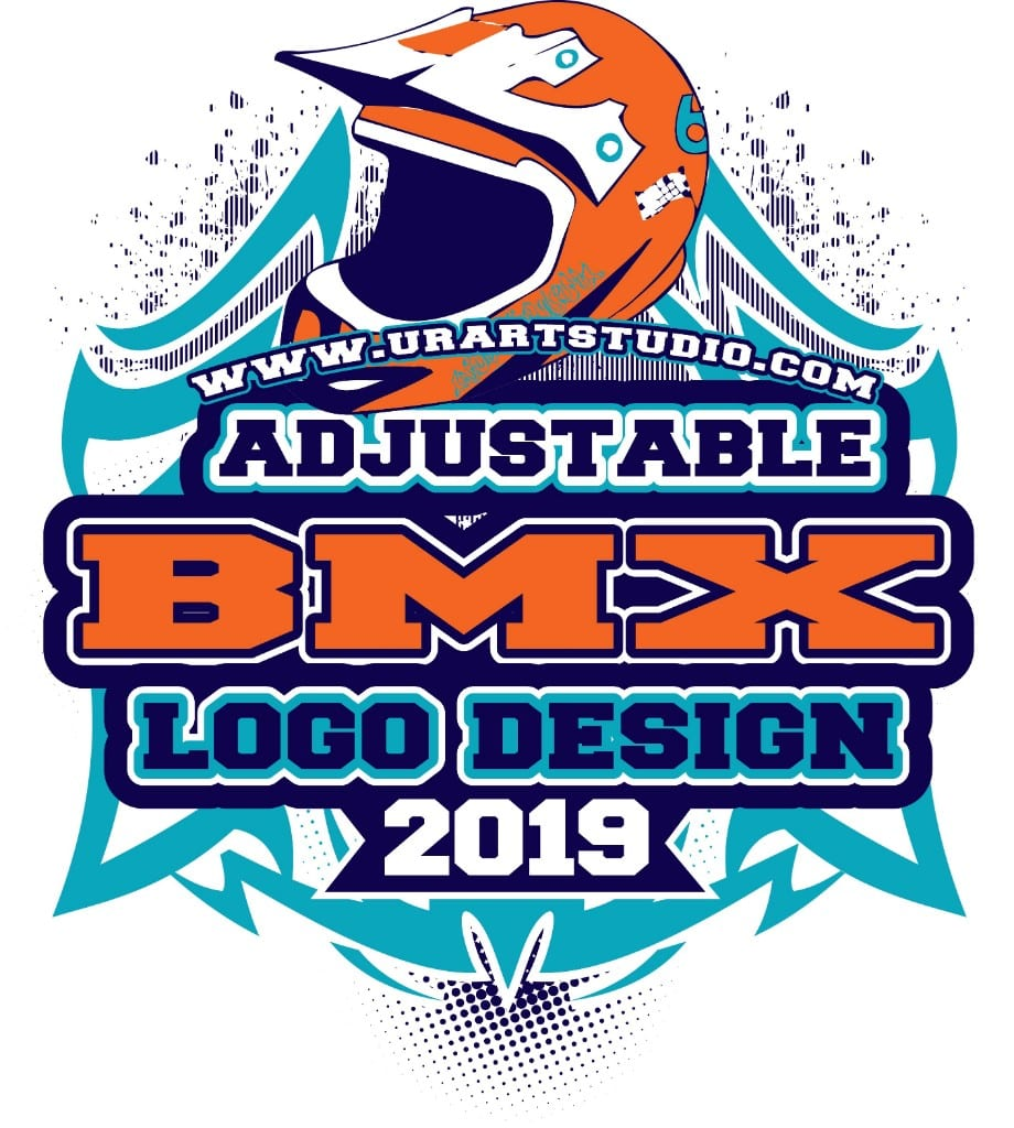 BMX VECTOR LOGO DESIGN FOR PRINT AI EPS PDF 504