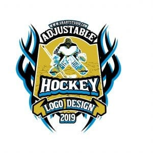 HOCKEY VECTOR LOGO DESIGN FOR PRINT AI EPS PDF PSD 509