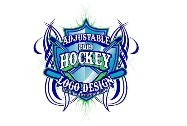 HOCKEY VECTOR LOGO DESIGN FOR PRINT AI EPS PDF PSD 507