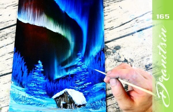 Exclusive, Northern Lights, Oil Painting Techniques, 164