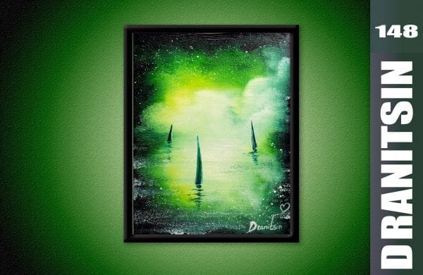 heart of the ocean original painting by dranitsin