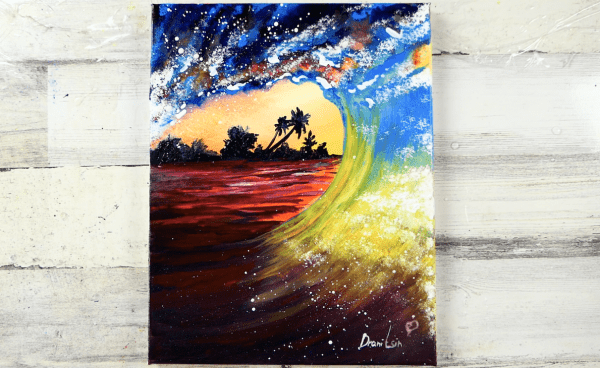 EXCLUSIVE-How-to-paint-exotic-landscape-through-wave-sunset-199