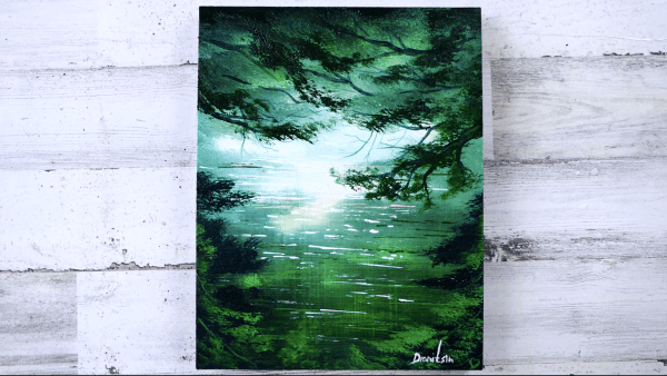 Flowing Green River