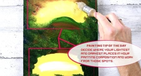 painting tip of the day