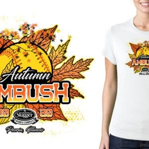 Autumn Ambush logo design
