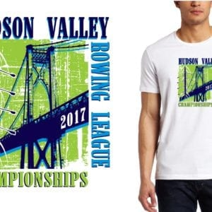 2017 Hudson Valley rowing LOGO DESIGN