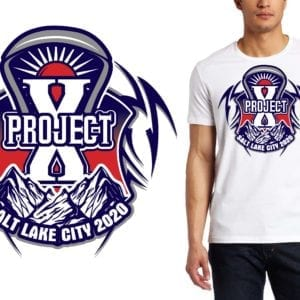 Project X Lacrosse Tournament LOGO DESIGN