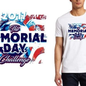 PRINT IMPORTANT 2 designs 17 The Memorial Day Challenge logo design