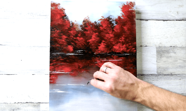 Autumn Landscape | Easy Painting for Beginners | Abstract | Acrylics2