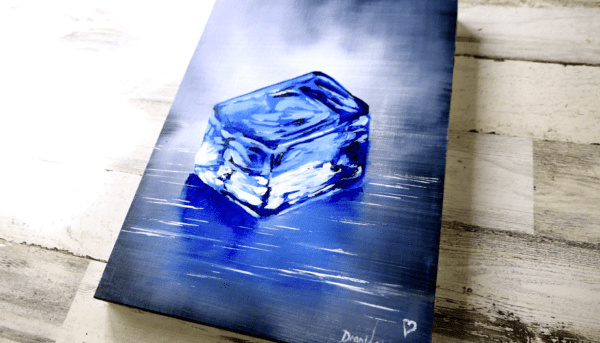 Ice-Cube-Easy-Painting-for-Beginners-Abstract-Acrylics3