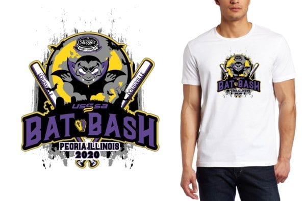 Bat Bash logo design