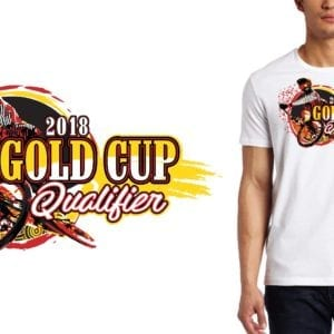 2018 Gold Cup Race logo design