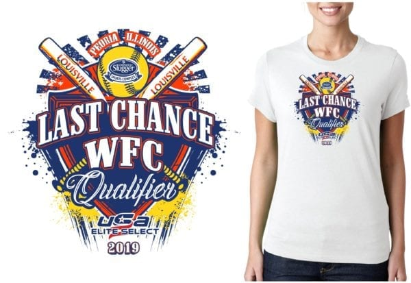PRINT Last Chance WFC Qualifier logo design