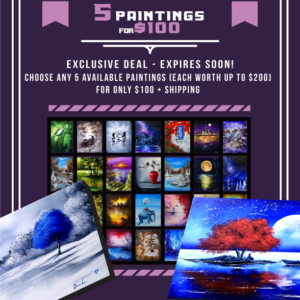 5-paintings-for-100-USD