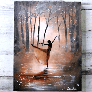 Dancing-in-the-Dusk-Acrylic-Painting-Techniques-Easy-for-Beginners2