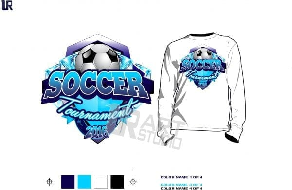 Soccer tshirt vector design and background